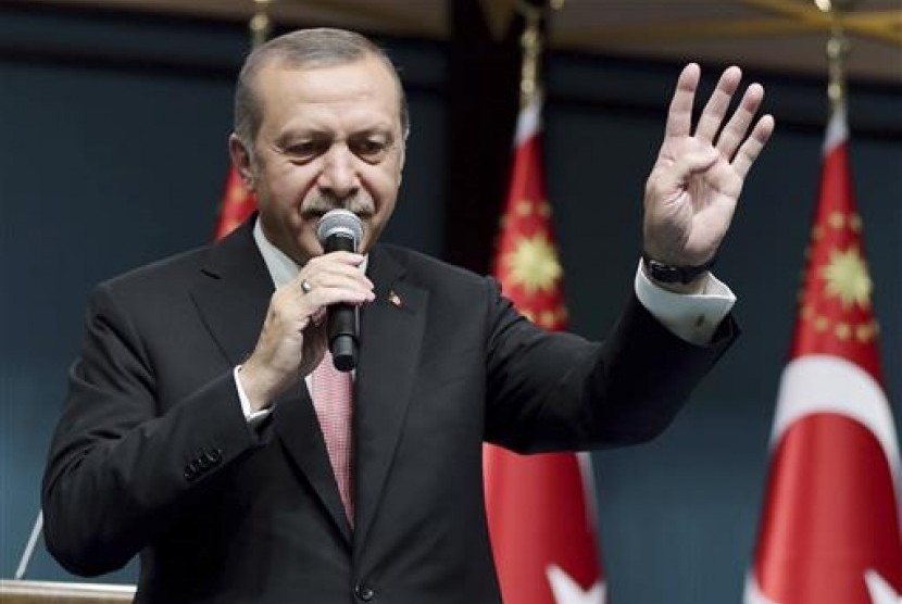 Turkish President Recep Tayyip Erdogan applied three months emergency status following attempted coup on July 2016.