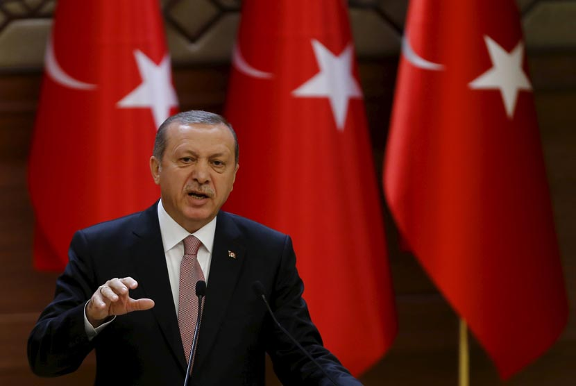 Presiden Turki Reccep Tayyip Erdogan