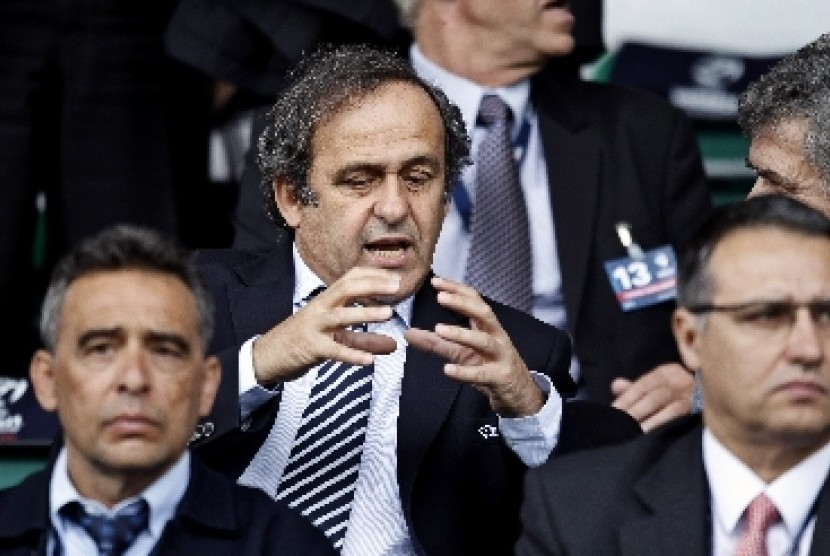Presiden UEFA, Michelle Platini