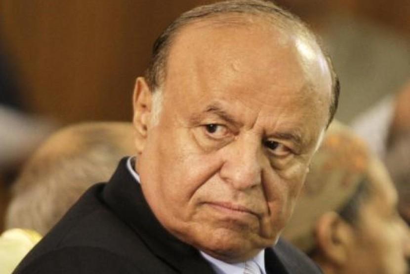 Presiden Yaman Abd-Rabbu Mansour Hadi