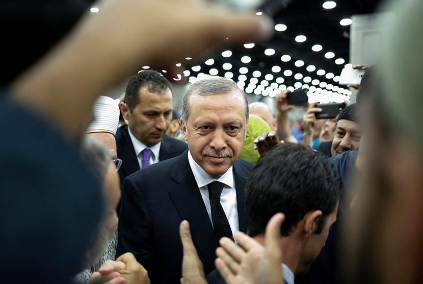 Presiden Turki Recep Tayyip Erdogan. (Reuters/Adrees Latif)