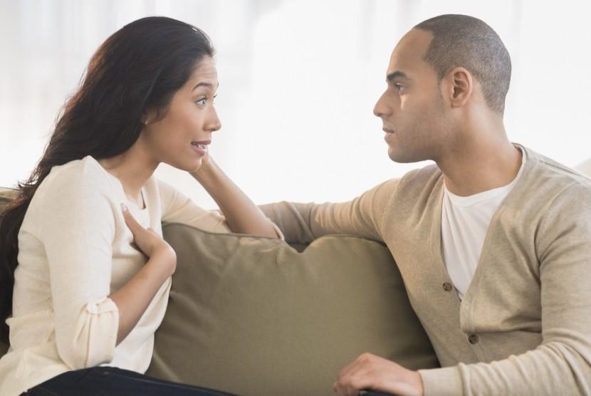 Pria dan Wanita memiliki perbedaan soal kemurahan hati. Ilustrasi.
