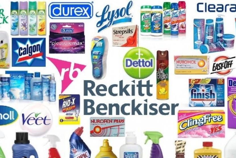 Produk Reckitt Benckiser.