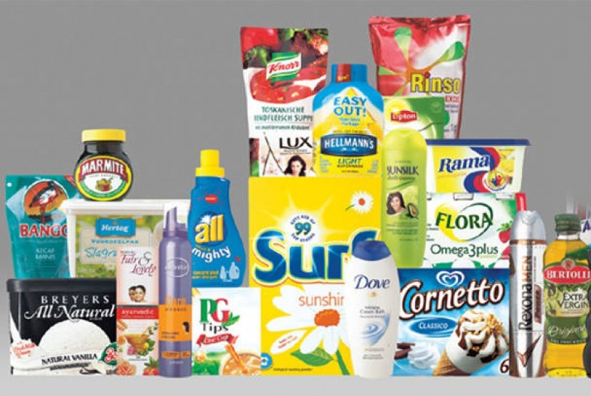 Produk Unilever (ilustrasi)