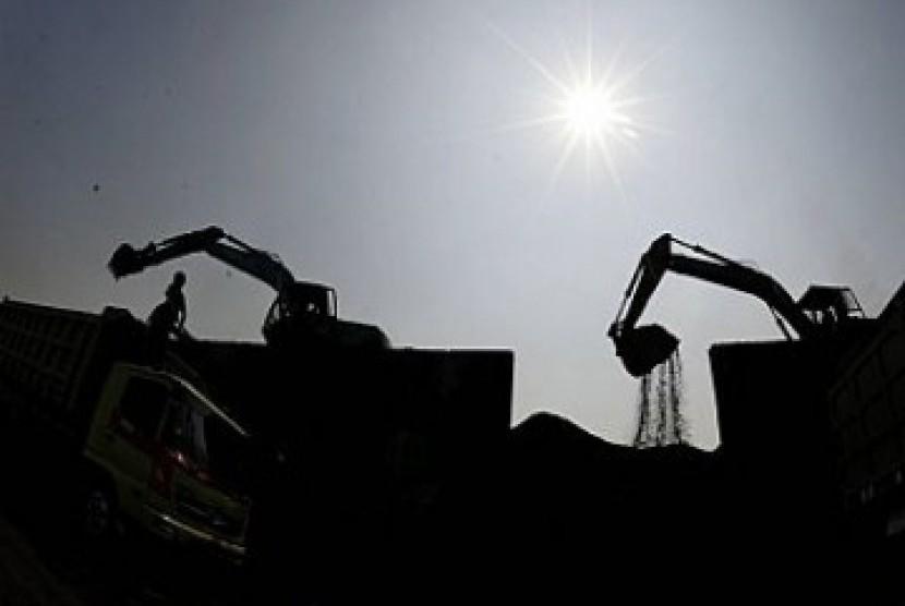Produksi batu bara, ilustrasi