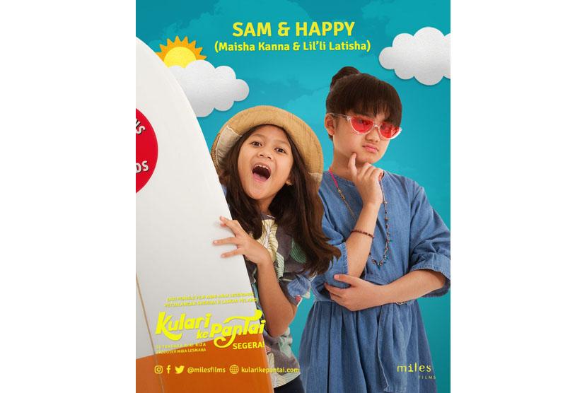 Produser Mira Lesmana dan sutradara Riri Riza kembali menghadirkan film anak berjudul Kulari ke Pantai.