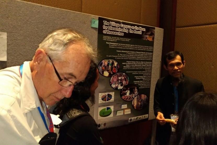Program Kampus Desa IPB dibahas di ajang Konferensi Internasional GFRAS APEN yang diselenggarakan di Townsville, Australia, 12-15 September 2017.