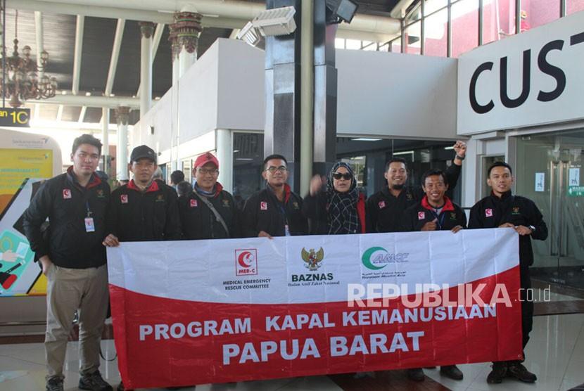 Program kapal kemanusiaan MER-C ke Papua Barat