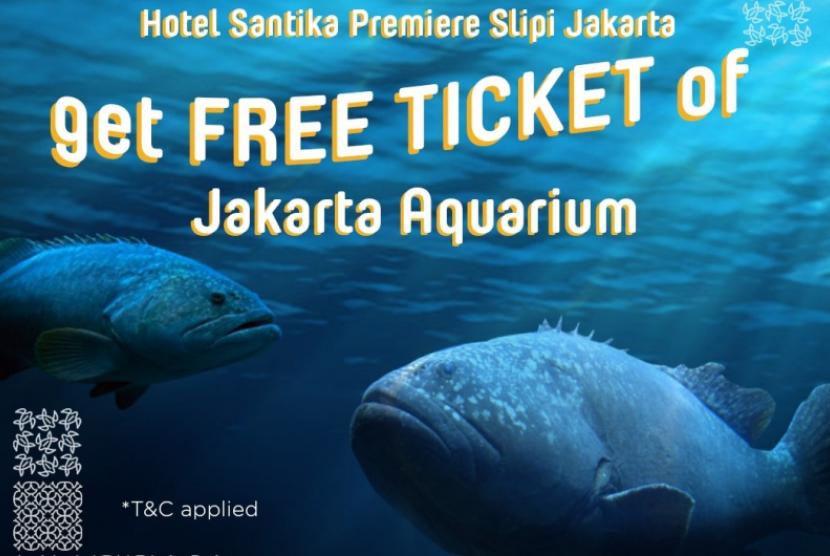 Menginap di Santika Premiere, Gratis Tiket Jakarta Aquarium