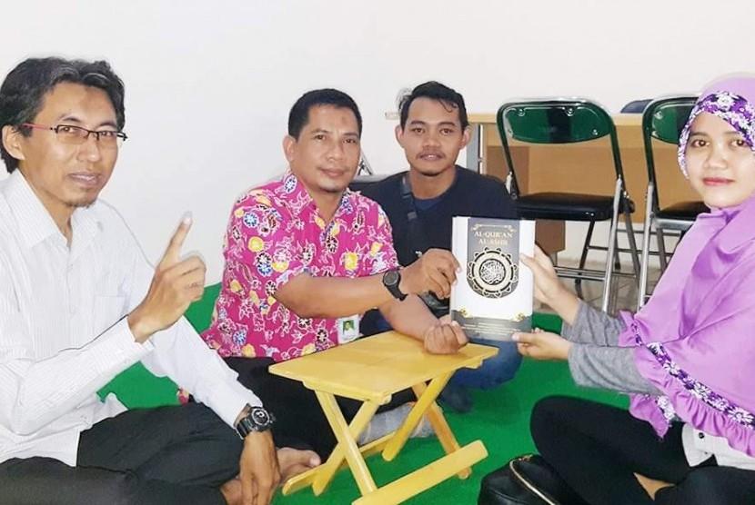 Alhamdulillah, Mahasiswi Asal Kalimantan Utara Bersyahadat