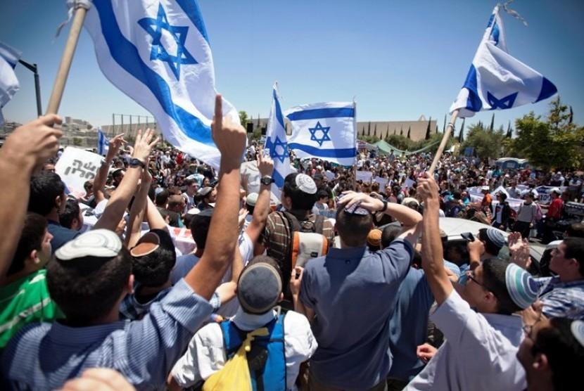 Pemukim Yahudi di Israel (ilustrasi)