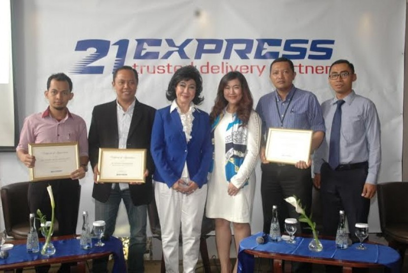 PT Globalindo Dua Satu Express (21Express), perusahaan jasa titipan dan logistik akan ikut memasuki industri jasa kurir ritel.