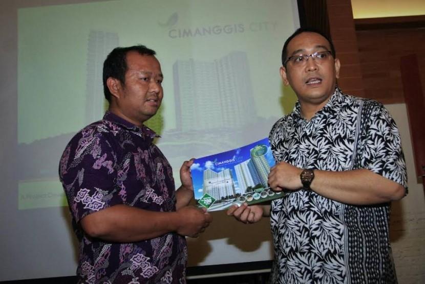 PT Permata Sakti Mandiri mengembangkan Cimanggis City.