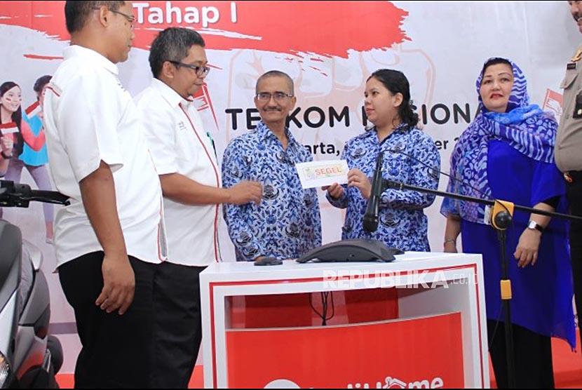 PT Telkom Indonesia (Persero) Tbk (Telkom) melaksanakan pengundian Tahap I untuk Program Promo IndiHome Paket Merdeka.