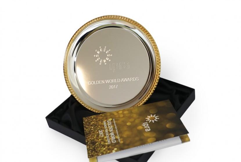 PT Telkom Indonesia (Persero) Tbk (Telkom) meraih penghargaan pada ajang ajang Golden World Award for Excellent in Public Relations 2017 pekan lalu di Bulgaria.