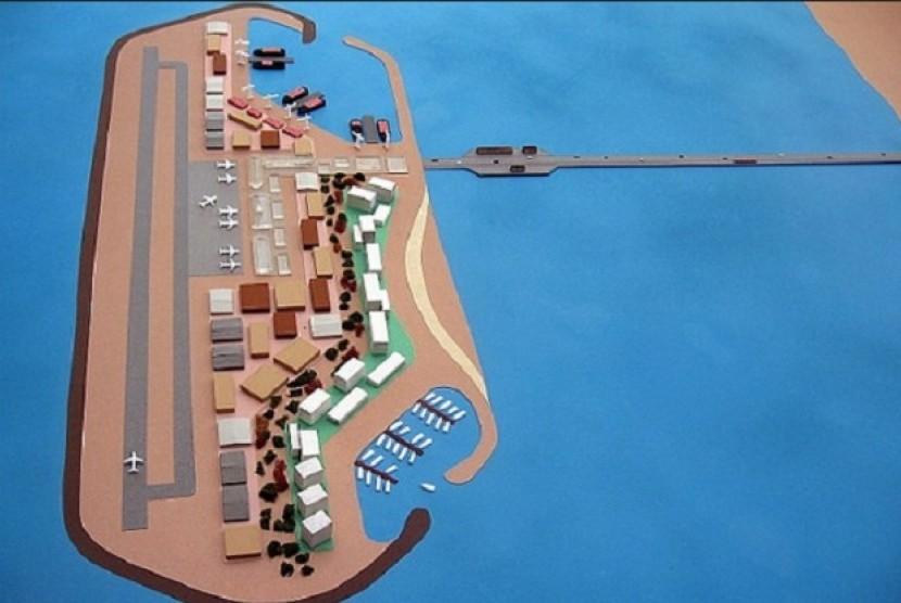 Israel akan Bangun Pulau Buatan di Laut Jalur Gaza