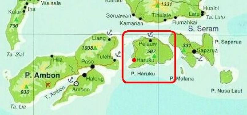 Pulau Haruku, ilustrasi