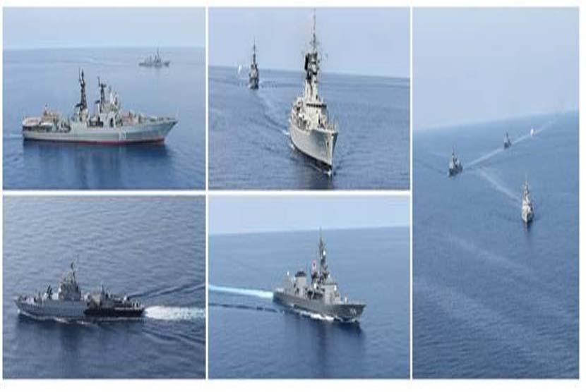 Kapal perang asing (ilustrasi)