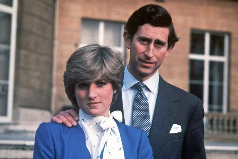 Putri Diana dan Pangeran Charles.