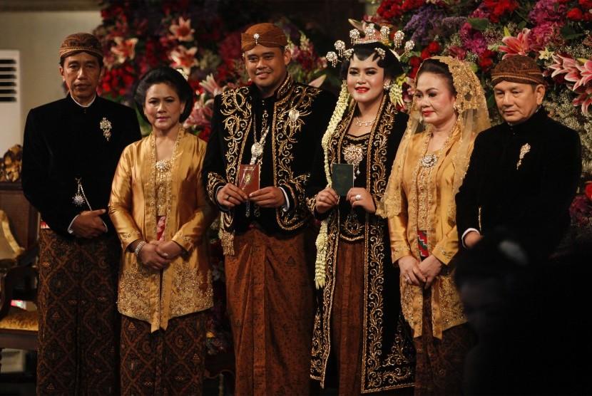 5 Persamaan di Pernikahan Kahiyang-Bobby dan Gibran-Selvi