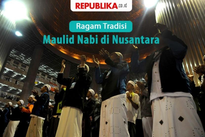 Ragam tradisi Maulid Nabi