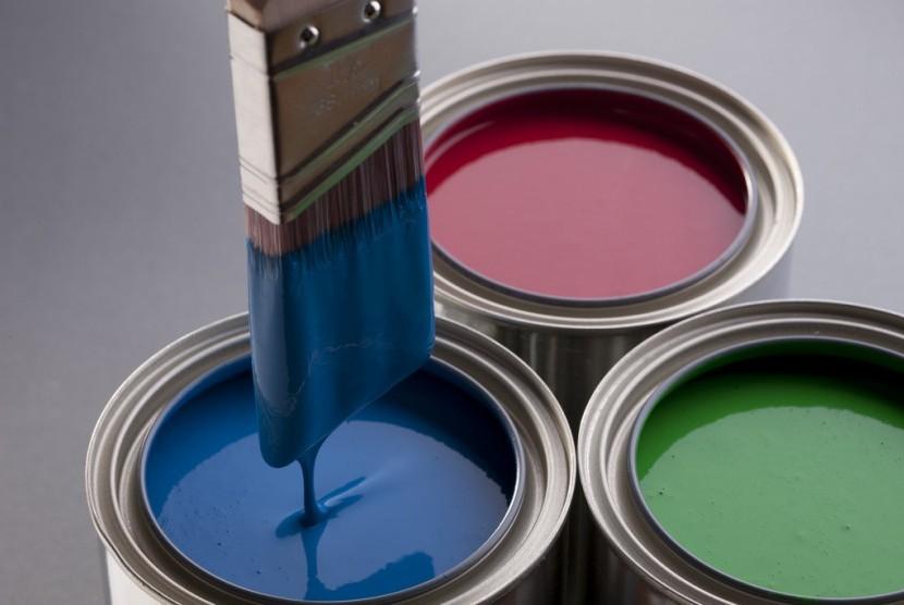 Ragam warna cat rumah.