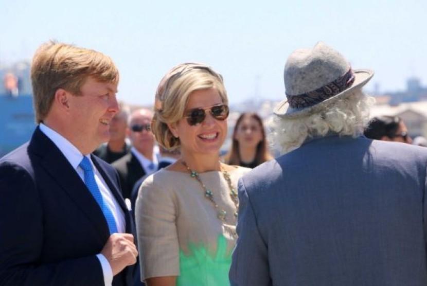 Raja Belanda King Willem-Alexander dan Ratu Maxima