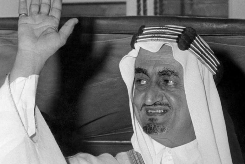 Raja Faisal bin Abdulaziz al-Saud.