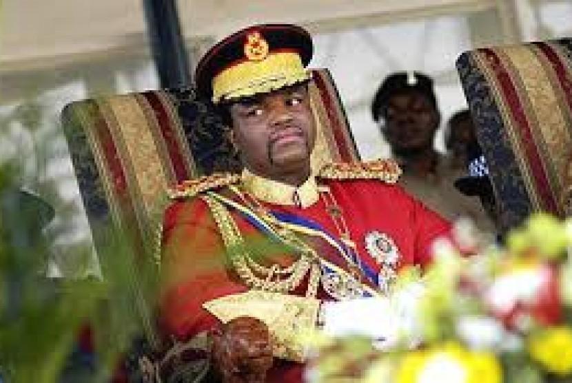Raja Mswati III dari Swaziland