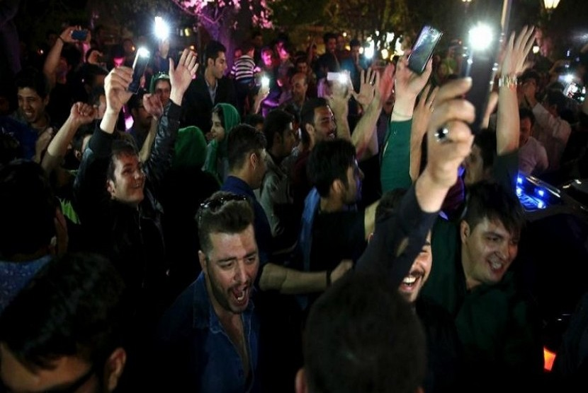 Rakyat Iran sambut kesepakatan Nuklir dengan Enam Kekuatan Dunia