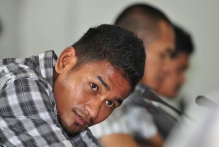 Abduh Lestaluhu Pukul Pemain Bhayangkara FC