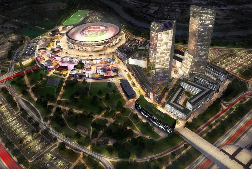Roma Dapat Izin Bangun Stadion Baru