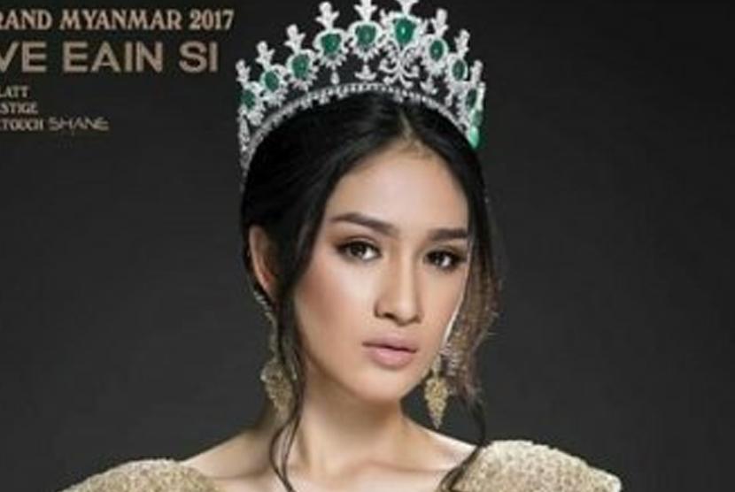 Ratu kecantikan Myanmar, Shwe Eain Si.