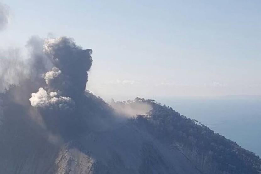Potensi Tsunami Akibat Letusan Gunung Api di Pulau Kadovar