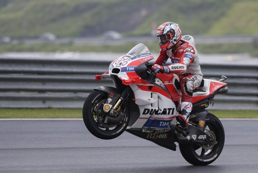 Tak Menyerah Jadi Kunci Kemenangan Dovizioso di GP Jepang