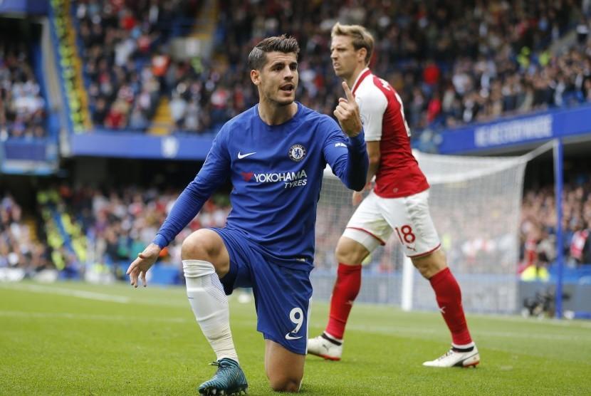 Babak Pertama Chelsea Vs Arsenal Masih tanpa Gol