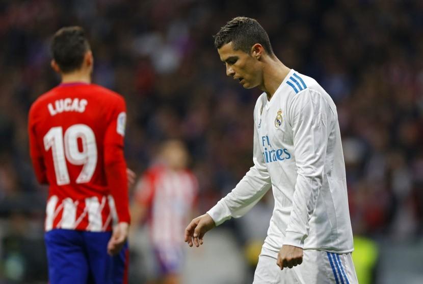 Imbang Lawan Atletico, Madrid Semakin Ditinggal Barca