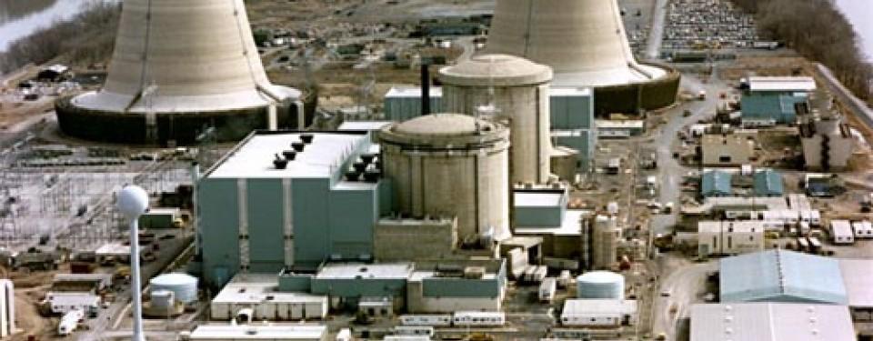 Reaktor nuklir sedang beroperasi, ilustrasi