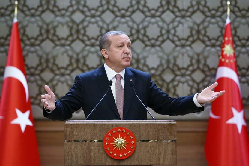 Erdogan Punya Bukti Keterlibatan AS Teror di Timur Tengah