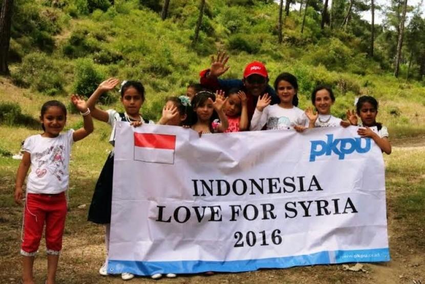 PKPU Bangun Perumahan Yatim untuk Anak-Anak Suriah