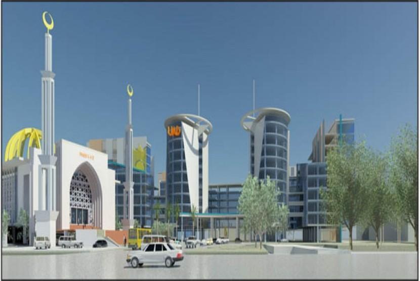Rencana Masjid Universitas Ahmad Dahlan