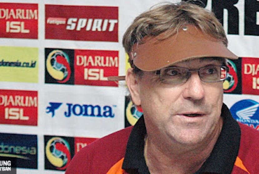 Pelatih PSM Tegaskan Timnya Tetap Serius Lawan Madura United