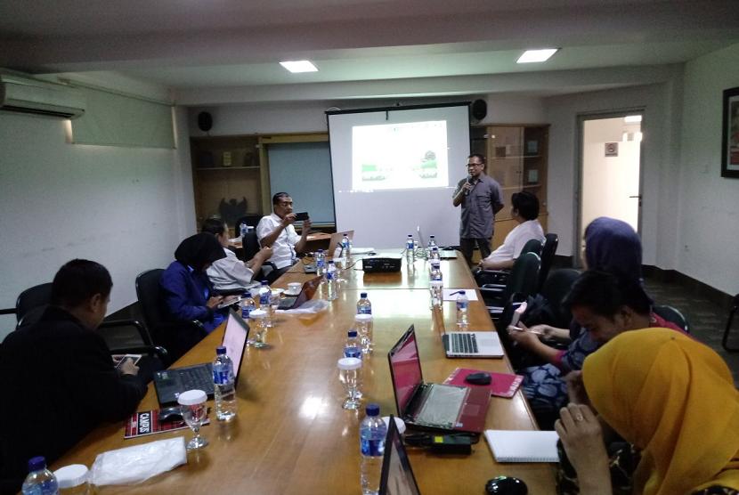 Republika menggelar pelatihan acara pelatihan akuntansi masjid yang berlangsung di Kantor Republika, Jakarta, Sabtu (13/1).
