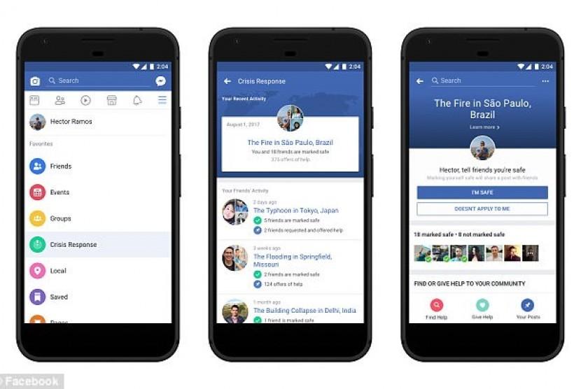 Respon krisis Facebook.