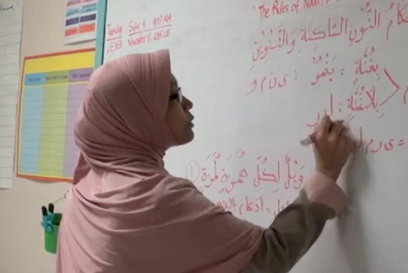 Guru bahasa Arab, Quran dan studi Islam (Ilustrasi)
