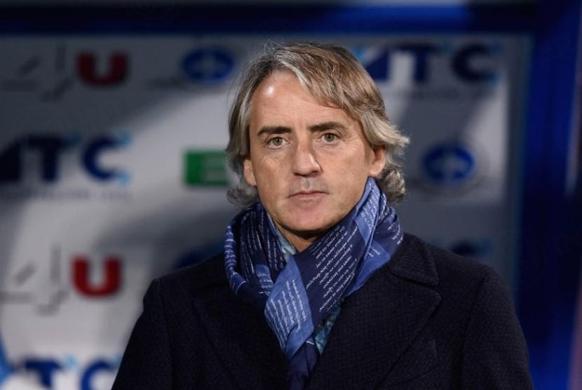 Mancini: Juventus dan Napoli Favorit Peraih Scudetto