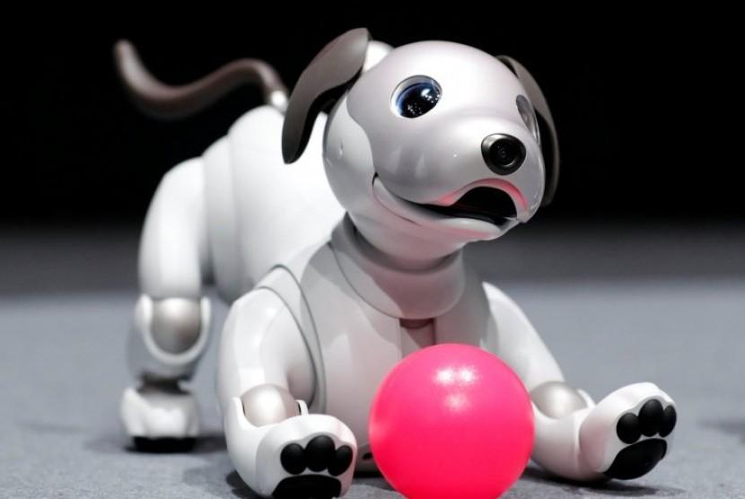 Robot anjing untuk lansia