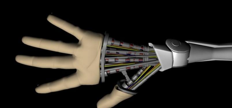 Robot. Ilustrasi