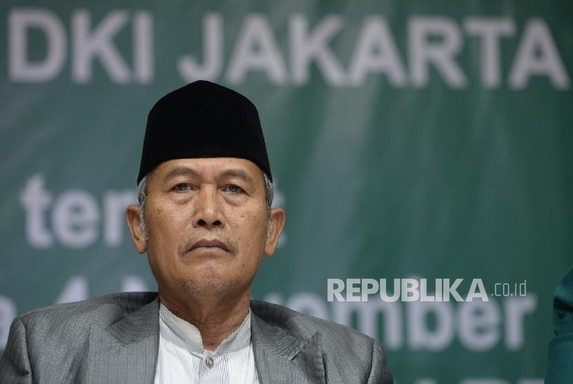 Rois Syuriyah PWNU Jakarta Mahfudz Asirun.