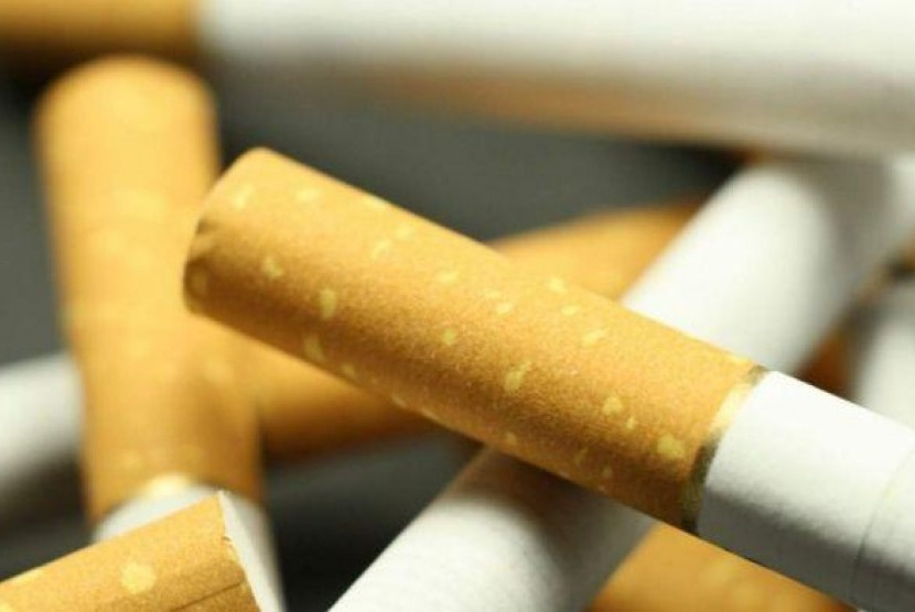 Bahaya merokok. (ilustrasi)